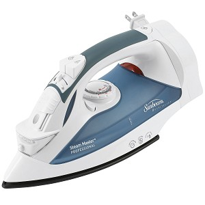 Sunbeam® 4274 GreenSense™ SteamMaster® Full Size Professional Iron w/ Retractable Cord & ClearView™ White 4 Per Case Price Per Each