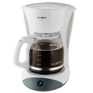 Sunbeam Percolator Coffee Maker : Sunbeam DWA12-NP Mr. Coffee 12 Cup Coffee Maker 2 Hour Auto Off Pause N Serve White 2 Per ...