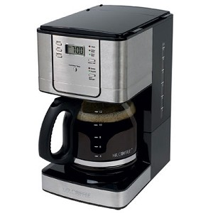 Sunbeam Jwx31rb Mr Coffee 12 Cup Maker Pause N Serve Black W Chrome
