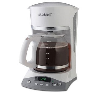 Sunbeam Skx20rb Mr Coffee 12 Cup Maker Pause N Serve White 2 Per