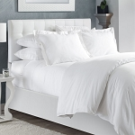 Naked T-300 White Bedding Collection
