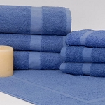 1888 Mills Dependability Bath Towels 24x50 86% Cotton 14% Polyester Porcelain Blue 10.5Lb/Dz 5 Dz Per Case Price Per Dz