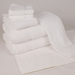 1888 Mills Dependability Bath Towels 25x54 86% Cotton 14% Polyester White 13.5Lb/Dz 3 Dz Per Case Price Per Dz