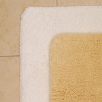 1888 Mills Magnificence Bath Rug XL 24x40 100% Pima Cotton Loops White or Linen 10 Per Case Price Per Each