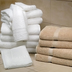 1888 Mills Magnificence Bath Towels XL 30x58 100% Pima Cotton Loops White or Linen 20Lb/Dz 2 Dz Per Case Price Per Dz