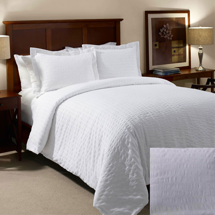 1888 Mills Beyond Textures Duvet Cover Full 85x94 100 Mjs Polyester White 6 Per Case Price Each