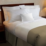 1888 Mills Beyond Impressions Fitted Bed Skirt Full XL 54x80x14 100% MJS Polyester 6 Per Case Price Per Each