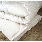 1888 Mills Foundations Eco Comfort Blankets Twin 57x84 100% Recycled Polyester White 4 Per Case Price Per Each