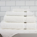 1888 Mills Premier Bath Towels 27x50 86% Cotton 14% Polyester White 14Lb/Dz 4 Dz Per Case Price Per Dz