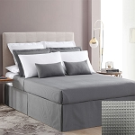 1888 Mills Adorn Gray Top Sheet King 110x120 55% Cotton 45% Polyester 12 Per Case Price Per Each