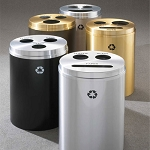 RecyclePro 3 Triple Purpose Receptacles
