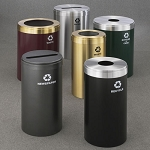 RecyclePro Value Single Purpose Receptacles