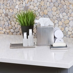 Brushed Metal Bath Collection