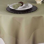Satin Band Beauti-Damask Cotton Blend Table Linens