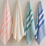 Martex Tropical Stripe Pool Towels
