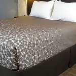 AHS Simplicity Collection T-200 Love Me Not Top Sheets King 110x96 100% Polyester Slate Gray 12 Per Case Price Per Each