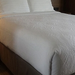 AHS Simplicity Collection Triton Top Sheets Full 86x96 100% Polyester White 12 Per Case Price Per Each