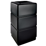 38-Gallon 3-Tier Block-Style Waste Container