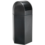 50-Gallon Hexagon Waste Container with Dome Lid