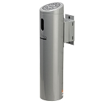 Wall-Mounted Swivel & Lock Cigarette Receptacles