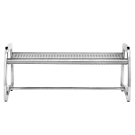 Commercial Zone® 4 Ft. Skyline Stainless Steel Bench