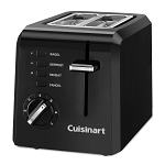Cuisinart® CPT-122BKWH 2-Slice Compact Toaster Black 4 Per Case Price Per Each