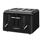 Cuisinart® CPT-142BKWH 4-Slice Compact Toaster Black 2 Per Case Price Per Each
