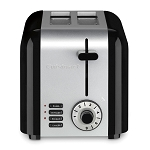 Cuisinart® CPT-320WH 2-Slice Compact Toaster Black/Stainless 4 Per Case Price Per Each
