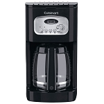 Cuisinart® DCC-1100BK 12 Cup Programmable Coffee Maker Black/Stainless Steel 2 Per Case Price Per Each