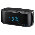 Conair® WCL75BK Sync Bluetooth Alarm Clock w/ Dual USB Charging Ports Black 4 Per Case Price Per Each