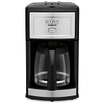 Cuisinart® WCM280S 12-Cup Automatic Coffee Maker Black/Stainless Steel 2 Per Case Price Per Each
