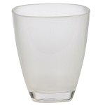 Creative Bath Crest Plastic Tumbler Frost Clear 6 Per Case Price Per Each