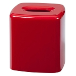 Creative Bath Gems Plastic Boutique Tissue Box Red 6 Per Case Price Per Each