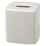 Creative Bath Gems Plastic Boutique Tissue Box White 6 Per Case Price Per Each