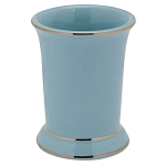 Creative Bath Regency Ceramic Tumbler Aquamarine 6 Per Case Price Per Each