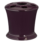 Creative Bath Regency Ceramic Toothbrush Holder Purple 6 Per Case Price Per Each