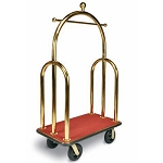 Deluxe Heavy Duty Bellman Carts - Trident Style