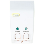 Dispenser Amenities Classic Dispenser II White 18 Per Case Price Per Each