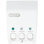 Dispenser Amenities Classic Dispenser III White 12 Per Case Price Per Each