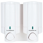 Dispenser Amenities Aviva Dispenser II Solid White Bottles 18 Per Case Price Per Each