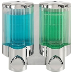 Dispenser Amenities Signature Dispenser II Chrome/Translucent Bottles 18 Per Case Price Per Each