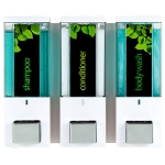 Dispenser Amenities iQon Dispenser III White/Translucent Bottles 12 Per Case Price Per Each
