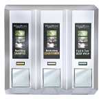 Dispenser Amenities AZAYA Dispenser III Chrome 12 Per Case Price Per Each
