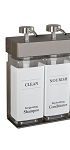 Dispenser Amenities SOLera Rectangular Bottles 15 Oz. Two Chamber 12 Per Case Price Per Each