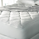 Downlite Ultra Plush Mattress Toppers w/ Infinity Skirt Queen 60x80 4 Per Case Price Per Each