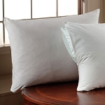 Downlite T-200 Zippered Pillow Protectors Standard 20x26 100% Cotton 12 Per Case Price Per Each