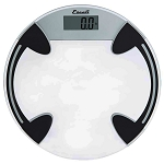 Escali Round Glass Bathroom Scale 8 Per Case Price Per Each