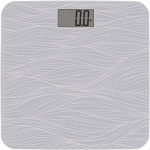 Escali Glass Waves Bathroom Scale 4 Per Case Price Per Each