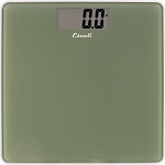 Escali Sage Green Square Glass Bathroom Scale 5 Per Case Price Per Each