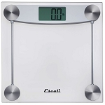 Escali Clear Glass Bathroom Scale 3 Per Case Price Per Each